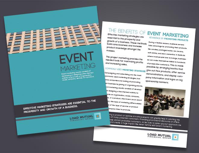 corporate event brochure seminar brochure design financial brochure