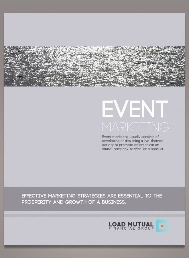 corporate event brochure seminar brochure design financial
