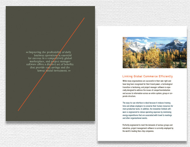 Simple Brochure Designs