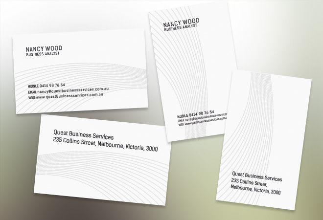 Business Card Stylish Design