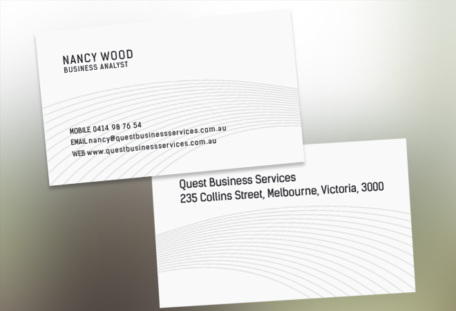 Music Business Card Design