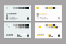 Business Card Services Design
