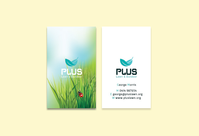 Business Gardening Card