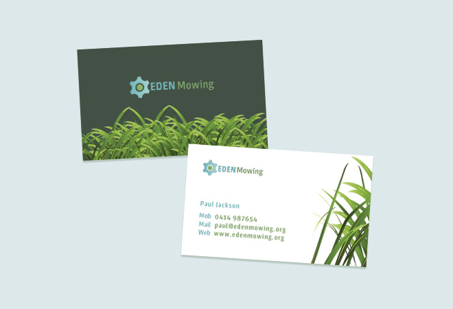 Lawn Care Cards