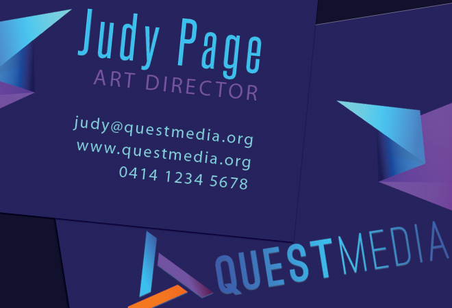 Business Abstract Card