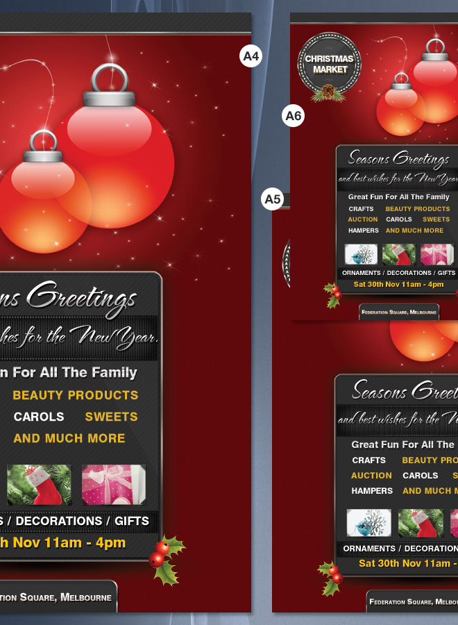 Christmas Decorations Flyer