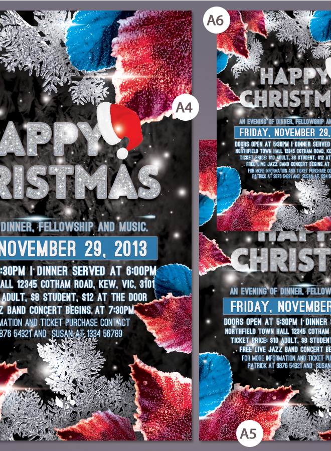 Party Christmas Flyer