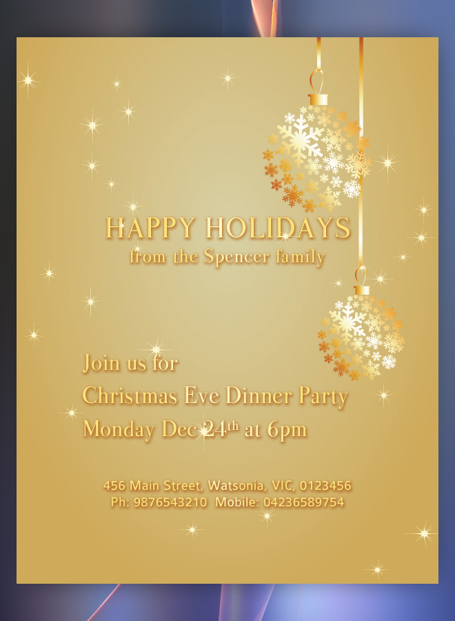 holiday luncheon themes