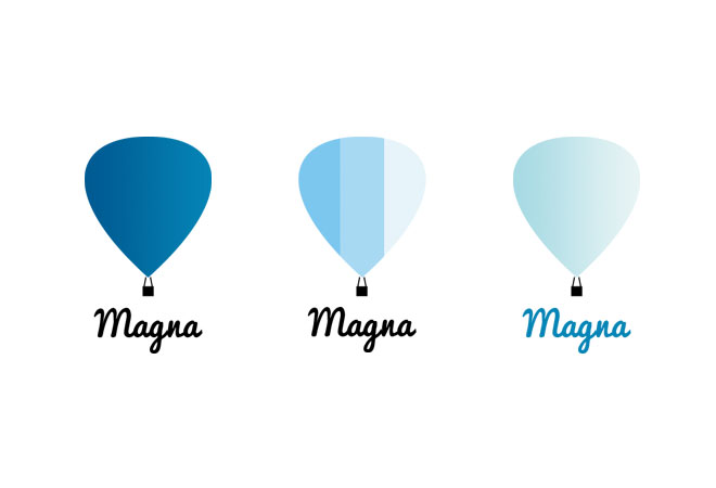 fashion label logo design hot air balloon logo design