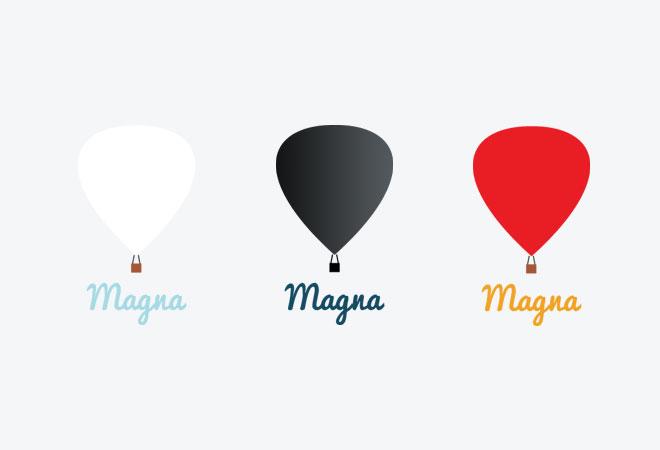 Hot Air Balloon Photography Logo The