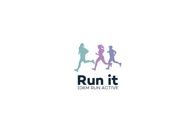 Running Logo Design Running Club Logo Fun Run Logo Running