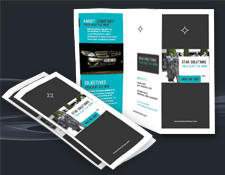 Brochure Design Trifold